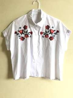 Bangkok embroidered blouse