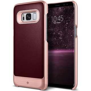 🚚 ⭐SEPT SALE⭐Caseology [Fairmont] Galaxy S8 Plus [Cherry Oak]