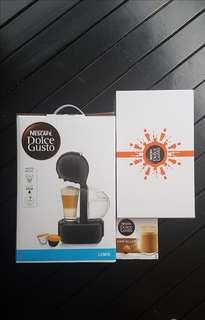 [Free gifts] BNIB Lumio Coffee Machine Dolce Gusto