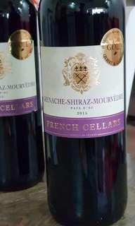 GOLD AWARD - French Red Wine Grenache Shiraz Mourvedre - New Arrival.