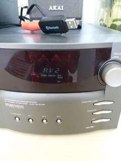 AKAI 5.1 CHANNEL SURROUND SOUND STUDIO SPEAKER SYSTEM