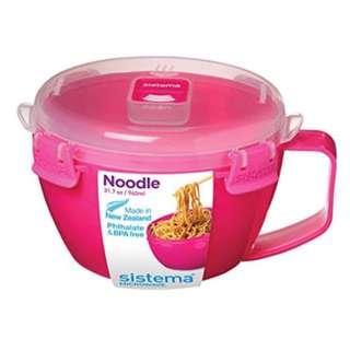Sistema noodle microwavable bowls 940ml