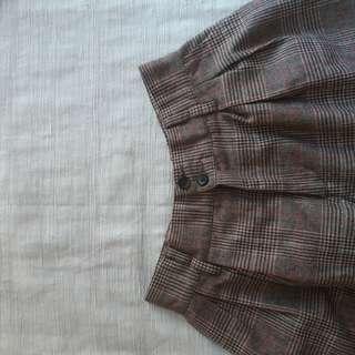 tartan short