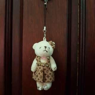 Bear Keychain LV