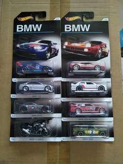 CPL - BMW series 8pcs hotwheels