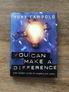 You Can Make A Difference by Tony Compoli