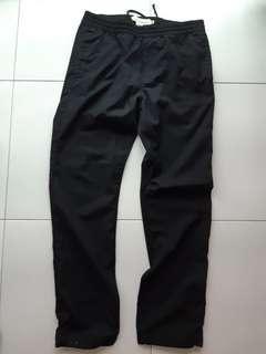 Used H&m black casual pants nt uniqlo zara adidas mens jeans