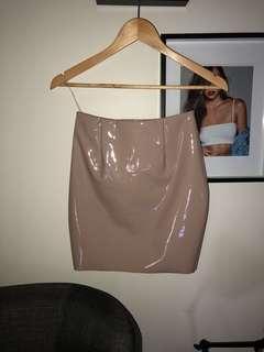 Meshki latex skirt