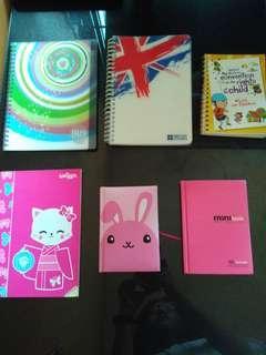 6 Notebooks for $2