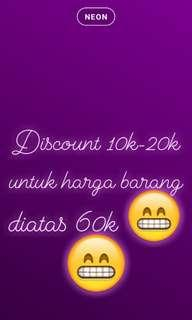 Discount only weekend