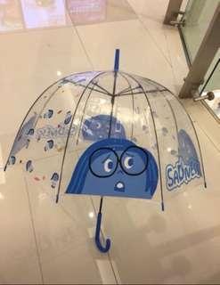 全新 7-11 呀愁透明直身雨傘 玩轉腦朋友 遮