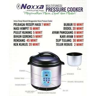 AMWAY  [FREE SHIPPING! ] Noxxa Electric Multifunction Pressure Cooker a.k.a Periuk Noxxa Ajaib