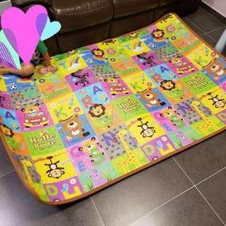 韓國兒童膠地墊/ 遊戲軟墊/ 膠墊