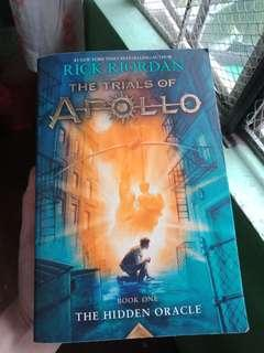 The Trials of Apollo by Rick Riordian
