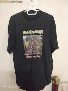 #UNDER90 Iron Maiden t-shirt rm55 sekali postage