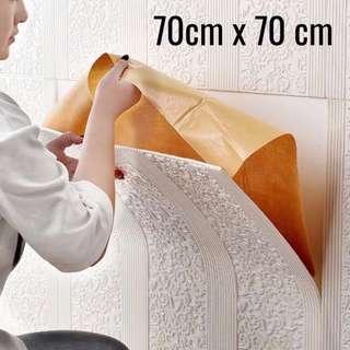 [PO] 3d Self-Adhesive Waterproof Wallpaper