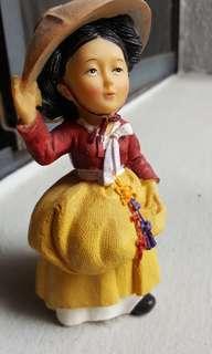 Traditional Korean figurine