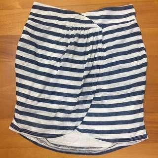 Urban Outfitters - open-front stripes skirt