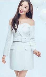 Zimmerman sabrina dress + belt