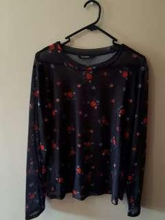 Mesh Glassons Long sleeved top