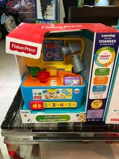 全新Fisher price 工具箱