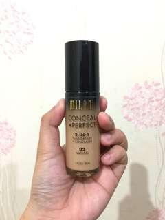 Milani Conceal+Perfect 2 in 1 Foundation