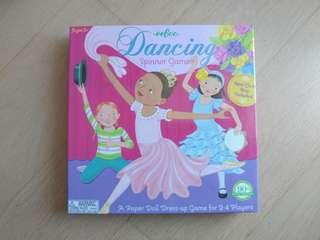 Spinning game (paper doll dress-up game)