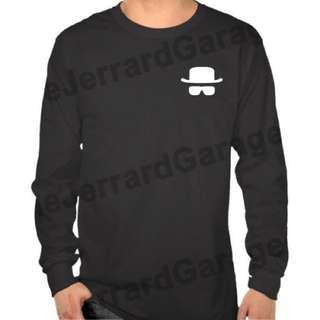 Heisenberg Breaking Bad Long Sleeve T-Shirt