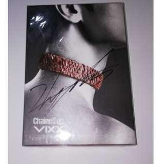 ONHAND UNSEALED SIGNED VIXX CHAINED UP
