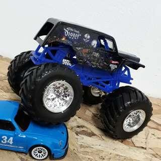 Hotwheels monster jam