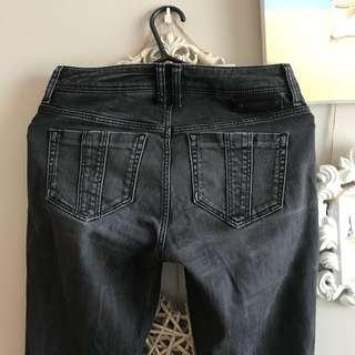 Burberry Brit jeans dark grey size 27 (size 8)