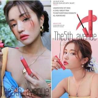 🚚 [Instock] 3CE Summer Velvet Lip Tint - Enjoy love