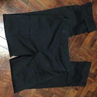 Bossini black pants slacks