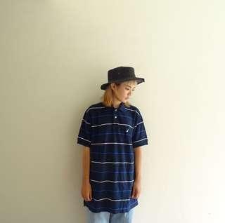 🚚 🔥Polo衫任兩件8折🔥Nautica深藍條紋Polo衫