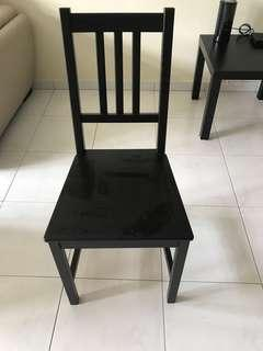Black IKEA chair for clearance..very good condition