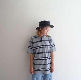 🚚 🔥Polo衫任兩件8折🔥Polo Ralph Lauren灰色條紋Polo衫