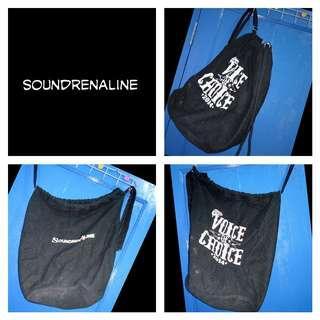 [Nego/barter] Tas hitam Soundrenaline