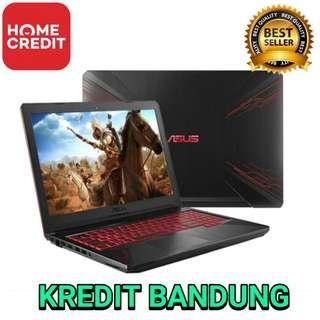 Asus FX504GE Kredit Laptop Bandung Cimahi All Type ada Lenovo HP Dell Razer Apple Macbook Gaming & Design !