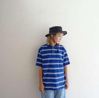 🚚 🔥Polo衫任兩件8折🔥Polo Ralph Lauren藍色條紋Polo衫