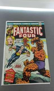 Fantastic Four # 147 Mary Jane Watson marvel value stamp intact
