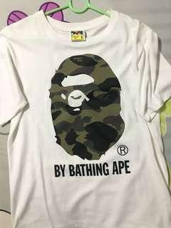 Bape shirt CAMO 100% authentic SIZE S