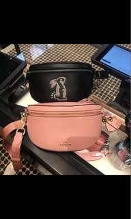 ❗️limited stock❗️ new coach selena  belt bag with bunny