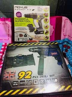 Drill Set Tools