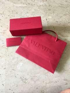Valentino Eyewear Box & Paper Bag
