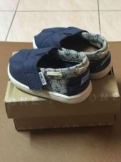 Toms Bimini Navy Canvas/Jersey Anchors