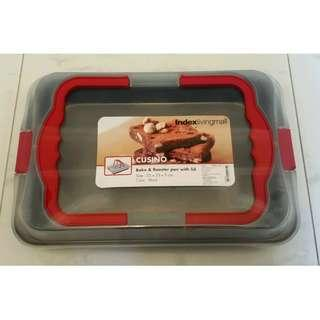 BNIP Cusino Bake & Roaster Pan with lid