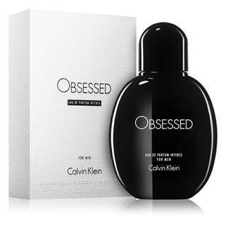 Brand New Original Calvin Klein OBSESSED Eau de Partum Intense For Men 125ml