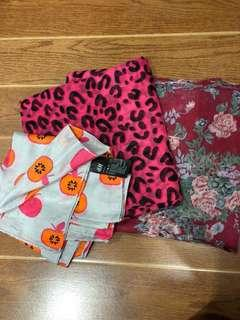3 Scarves for Php350