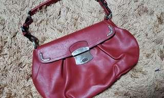 Red Elegant shoulder bag