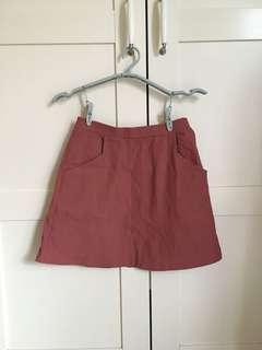 Pazzo 粉紅色短裙